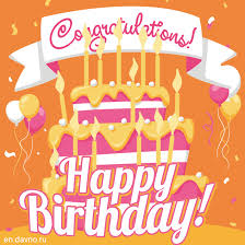 animated cards animated happy birthday card with cake and candles card 329
