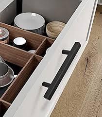 black handles on oak kitchen cabinets 5in cabinet handles black kitchen cabinet pulls 5 pack j22bk 128mm cabinet pulls file cabinet hardware for bathroom bedroom wardrobe