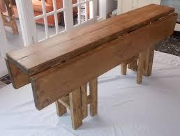 Black Drop Leaf Kitchen Table by Large Handmade Rustic Drop Leaf Kitchen Dining Table 4 Gate