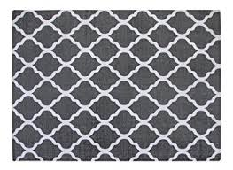 Gray And White Area Rug Chesapeake Merchandising 5 By 7 Flatweave