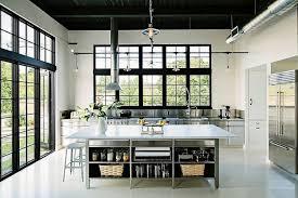 cuisine tout inox 30 exemples de décoration de cuisines au style industriel