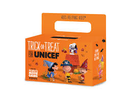 new trick or treat for unicef psas feature charlie brown and the