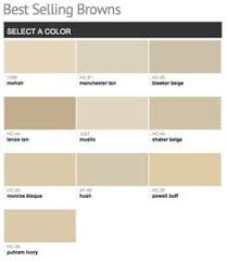 light brown paint color chart sea view 836 another great bm paint color selection for you by