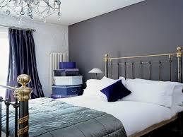 inspirational grey and dark blue bedroom ideas