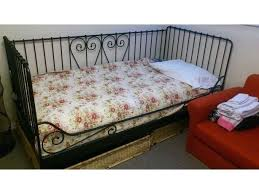 Single Metal Day Bed Frame Ikea Metal Daybed Alluring Metal Daybed With Fascinating Details