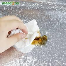 aliexpress com buy 0 6mx5m oil proof aluminum foil self adhesive