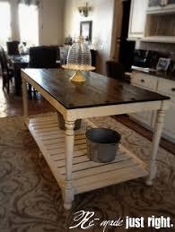 farm table kitchen island counter height farm house table design the general