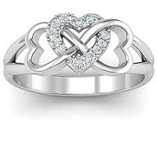mothers infinity ring best 25 infinity ring diamond ideas on friendship