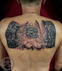 hughfowler egyptian tattoo egyptian gods egypt tattoo anubis horus