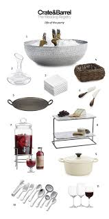 items for a wedding registry crate and barrel wedding registry favorites bridalpulse