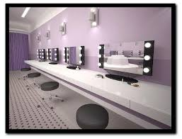 Professional Makeup Lights Bathroom Lighted Mirror Vanity Table New Lighting Intended For
