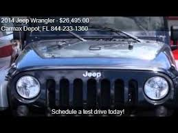carmax jeep wrangler unlimited 2014 jeep wrangler for sale in miami fl 33142 at the carmax