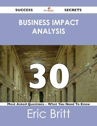 cheap business impact analysis template find business impact