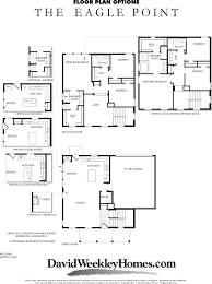 David Weekly Floor Plans Eagle Point New Homes Utah