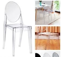 dining furniturebox ghost chair 4 clear acrylic dining chairs