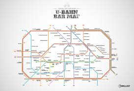 Wohnzimmer Bar Berlin Karte Berlin U Bahn Map Map With Bars Near Every Stop Thrillist