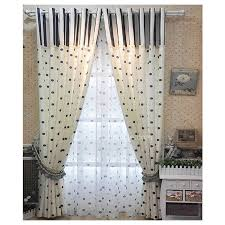 Navy Patterned Curtains Navy Blue And White Patterned Curtains Of Polka Dots For Living Room