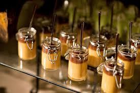 wedding cake jars cakes desserts photos chocolate and caramel pudding inside