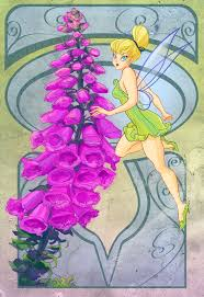 1853 best tinkerbell images on pinterest disney fairies tinker a series of disney fanart based on the language of flowers for tink i chose foxglove which has long been associated with fairies