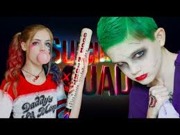 harley quinn u0026 the joker squad makeup tutorial youtube