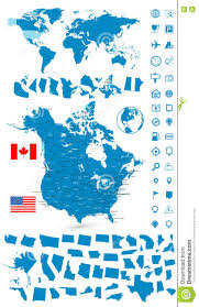 Usa Canada Map usa maps printable maps of usa for download detailed map of the