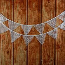 Bunting Flags Wedding Online Buy Wholesale Vintage Fabric Bunting Wedding Birthday Party