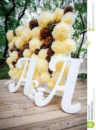 wedding backdrop letters flower pompon backdrop wall wedding decoration zone with