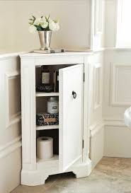 White Corner Cabinet Bathroom Small Corner Cabinets Bathroom Decorating Ideas Corner Space
