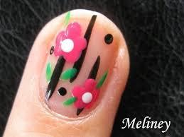 easy flower nails for beginners flower power nail art tutorial