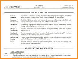 10 sample resume skills section azzurra castle grenada