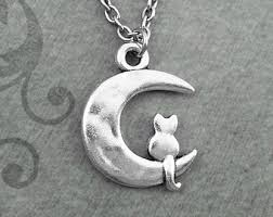 cat on the moon etsy
