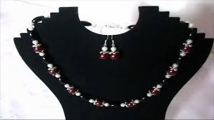 cercei online bijuterii handmade online set colier si cercei din perle de