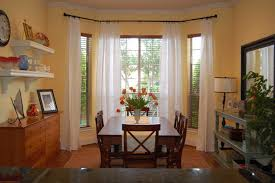 comfort dining room ideas with lovely curtains dining room