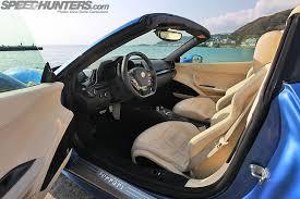 458 Spider Interior The Ferrari Experience 458 Spider Dream Drive Speedhunters