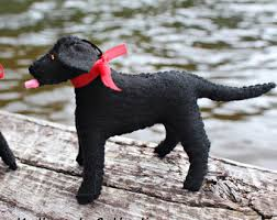 black lab ornament etsy