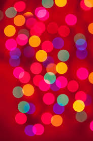 multi color christmas light bokeh background by travis photo works