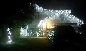 cool white icicle lights christmas lights picture gallery san antonio tx
