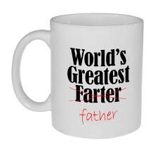 fathers day mug world s greatest farter fathers day gift coffee or