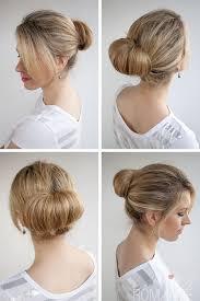 different hair buns 30 buns in 30 days day 1 the flip bun hair