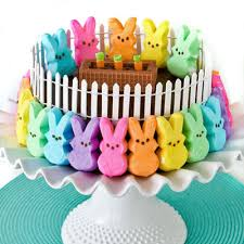 Easter Decorations Peeps by Peeps Bunny Patch Cake Recipe