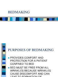 Bed Making Download Checklist On Making An Unoccupied Bed Docshare Tips