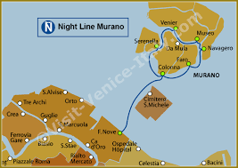 venice vaporetto map water venice vaporetto map of line nm murano actv