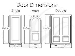 Standard Door Sizes Interior Door Sizes Door Ideas