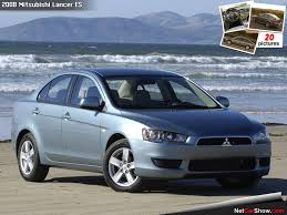 mitsubishi car 2008 2008 mitsubishi lancer specs and photos strongauto