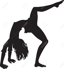 Free Silhouette Images Black Silhouette Gymnastic Royalty Free Cliparts Vectors