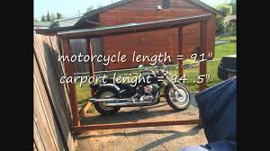 motorcycle home decor ideas of motorcycle shelter garage cover thebikeshield for