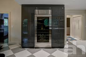 sleek modern kitchen sleek modern kitchen renovation atchison heller