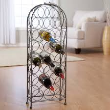 floor wine rack to turn your storage into a stunning piece of