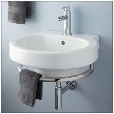 wall mount bathroom sink with towel bar sink and faucets home