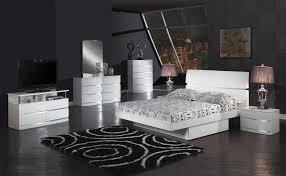 wave king size modern design black leather platform bed ebay